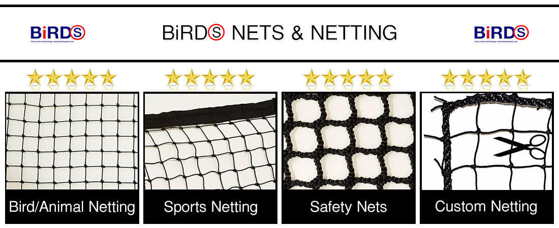 ตาข่ายกันนก, ตาข่ายสนามกีฬา, Premium Netting, Bird Netting, Animal Netting, Sports Netting, Safety Nets, Fishing Nets, etc.